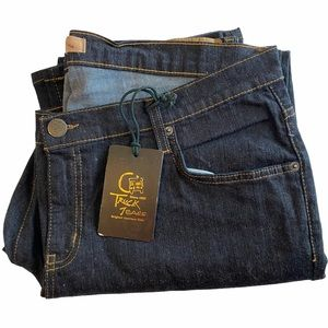 Truck Dark Denim Jeans Women's Plus